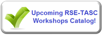 Upcoming RSE-TASC Workshops Catalog!